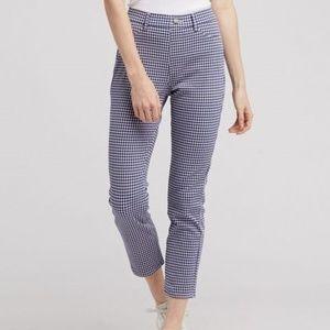 Uniqlo Ultra Stretch Print Cropped Legging Pants